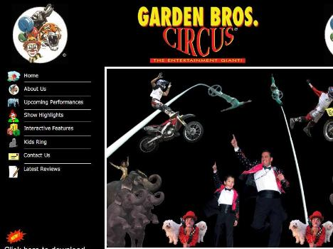 Garden Brothers Circus Tour Dates 2016 2017 Concert Images Videos